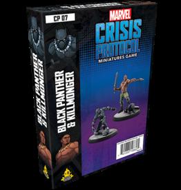 Asmodee Marvel Crisis Protocol: Black Panther and Kilmonger