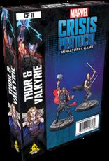 Asmodee Marvel Crisis Protocol: Thor and Valkyrie