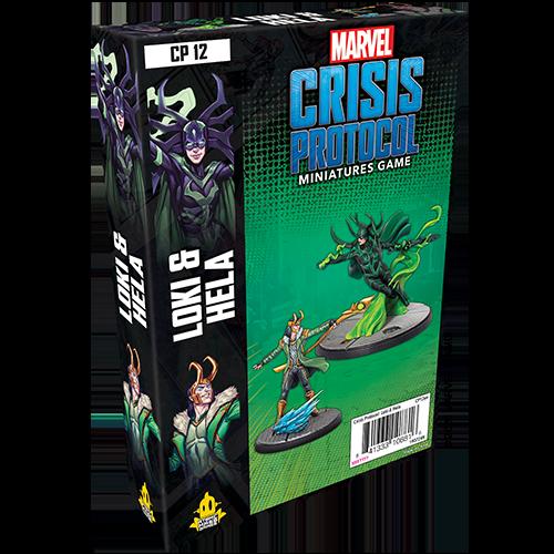 Asmodee Marvel Crisis Protocol: Loki and Hela