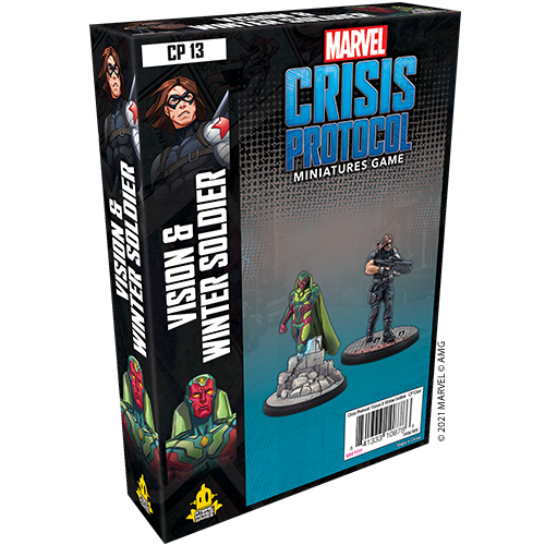 Asmodee Marvel Crisis Protocol: Vision & The Winter Soldier
