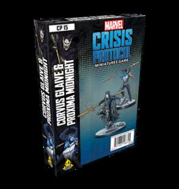 Asmodee Marvel Crisis Protocol: Corvus Glaive & Proxima