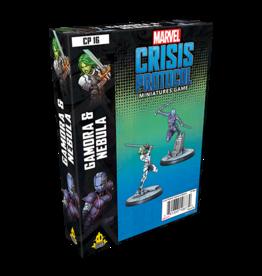 Asmodee Marvel Crisis Protocol: Gamora & Nebula