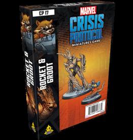 Asmodee Marvel Crisis Protocol: Rocket & Groot