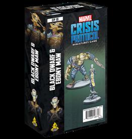 Asmodee Marvel Crisis protocol: Black Dwarf & Ebony