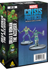 Asmodee Marvel Crisis Protocol: Drax & Ronan the Accuser