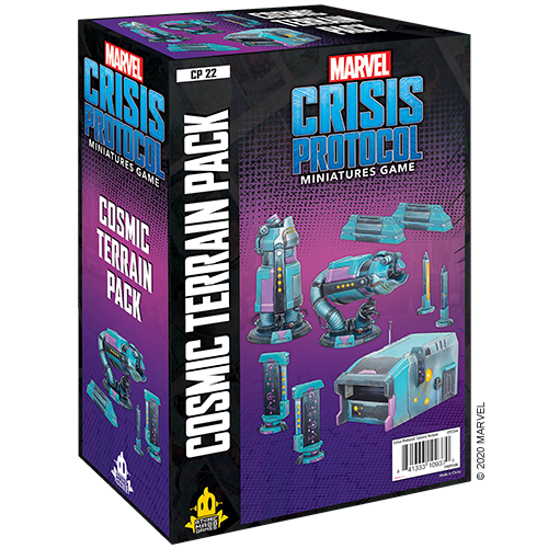 Asmodee Marvel Crisis Protocol: Cosmic Terrain