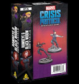 Asmodee Marvel Crisis Protocol: Hawkeye & Black Widow