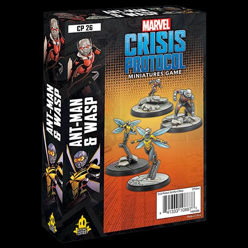 Asmodee Marvel Crisis Protocol: Ant-Man & The Wasp