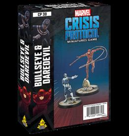Asmodee Marvel Crisis Protocol: Bullseye & Daredevil