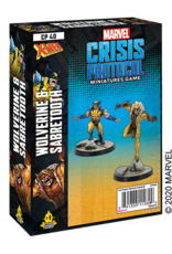 Asmodee Marvel Crisis Protocol: Wolverine & Sabertooth