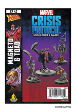 Asmodee Marvel Crisis Protocol: Magneto & Toad