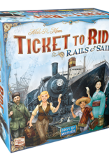 Asmodee Ticket to Ride: Rails & Sails