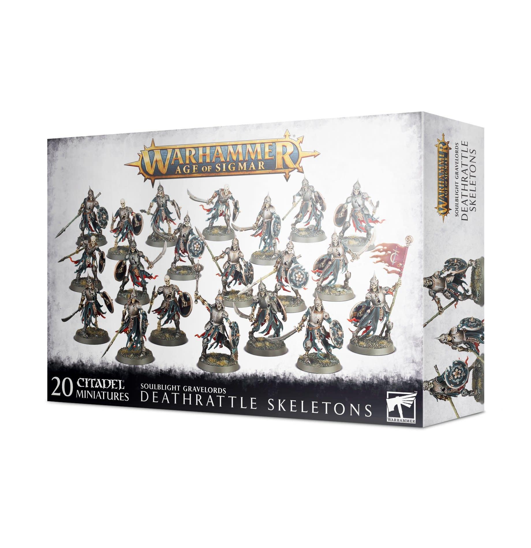 Games-Workshop Deathrattle Skeletons