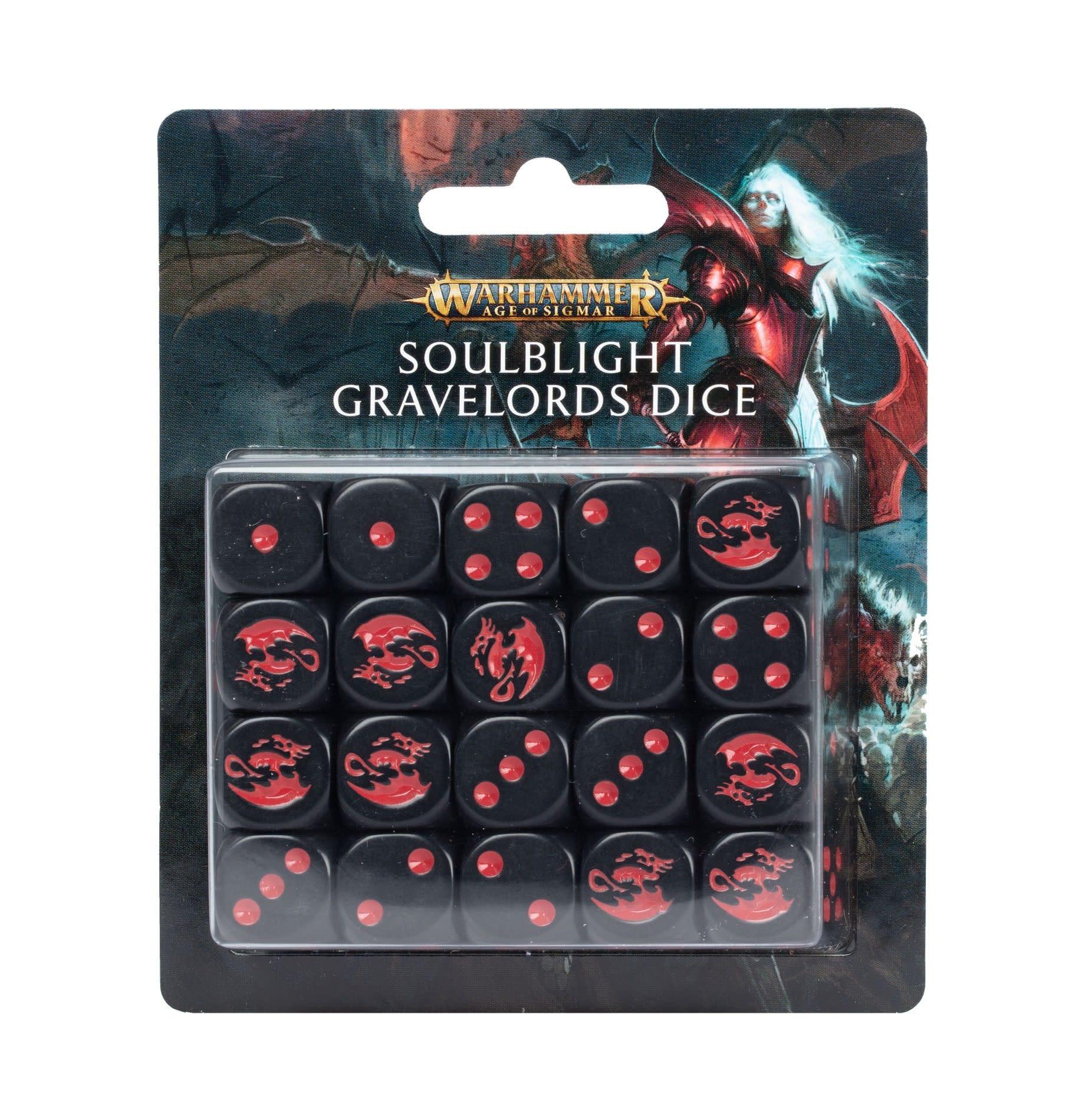Games-Workshop Soulblight Gravelords Dice Set