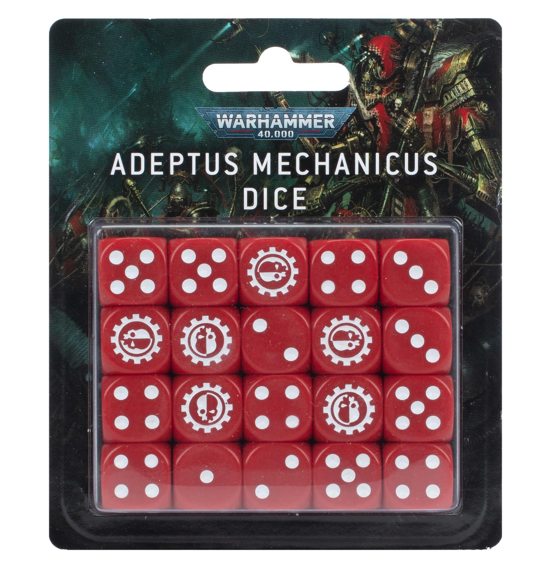 Games-Workshop Adeptus Mechanicus Dice Set