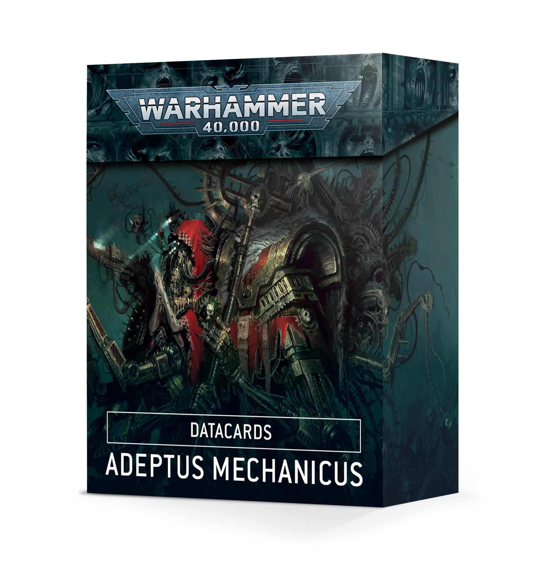 Games-Workshop Adeptus Mechanicus Datacards