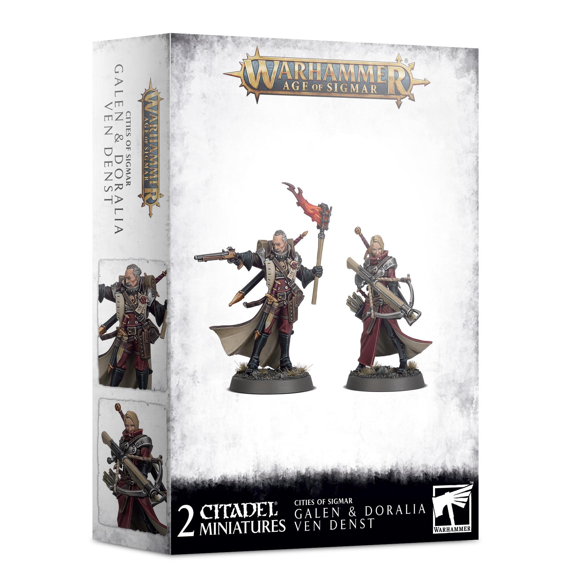 Games-Workshop Warhammer Age of Sigmar: Cities of Sigmar - Galen & Doralia Ven Denst