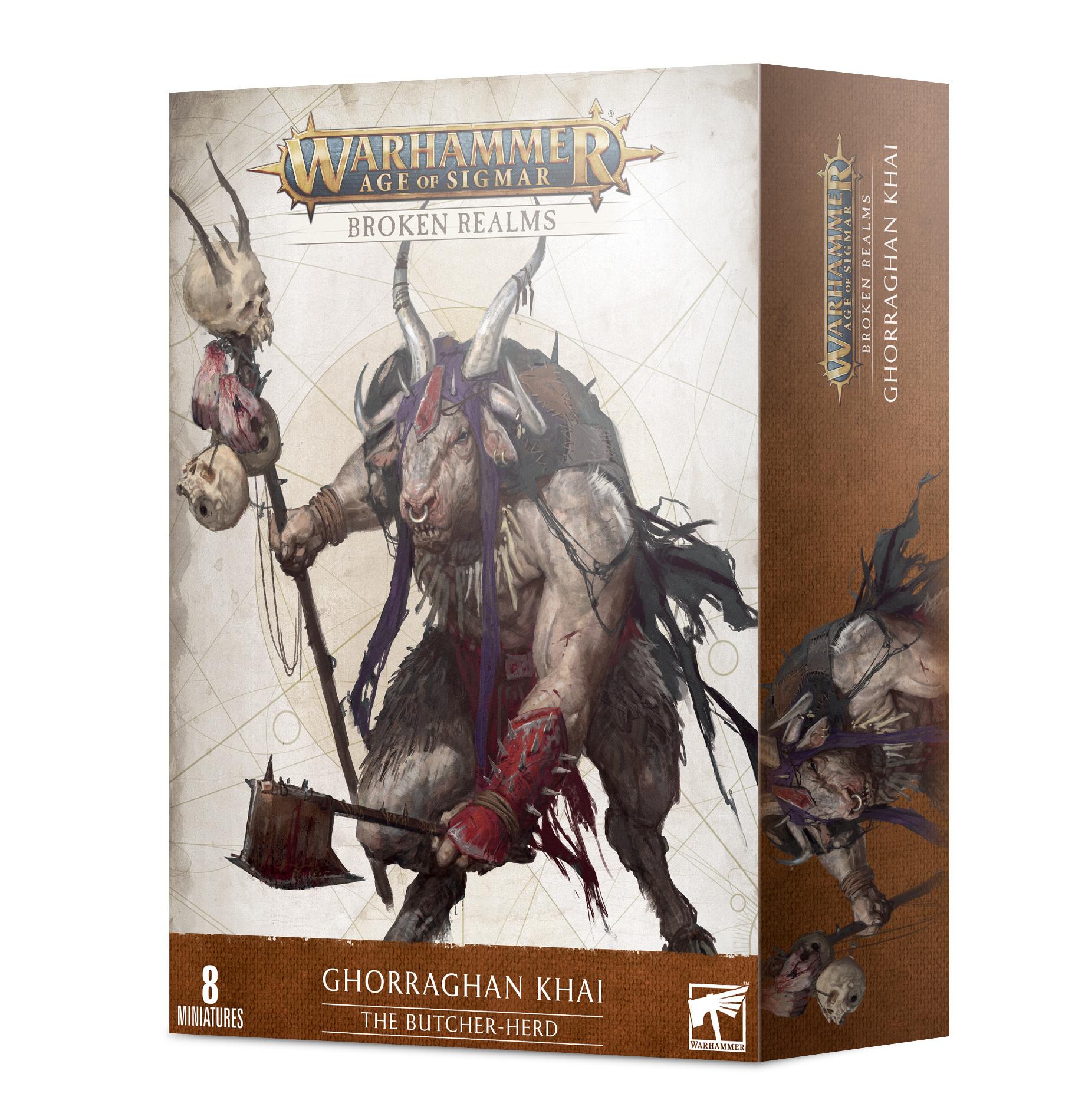 Games-Workshop Broken Realms: he Butcher-Herd