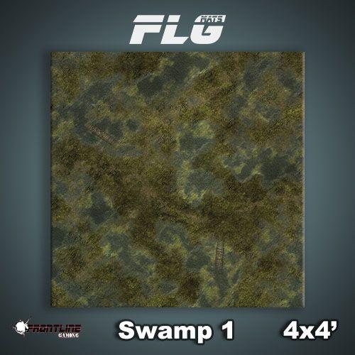 Frontline Gaming FLG Mats: Swamp 1 4x4'