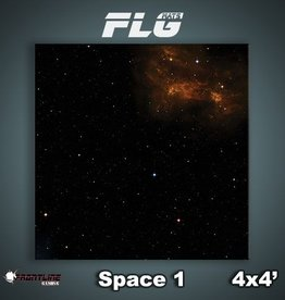 Frontline-Gaming FLG Mats: Space 1 4x4'