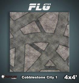 Frontline Gaming FLG Mats: Cobblestone City 1 4x4'