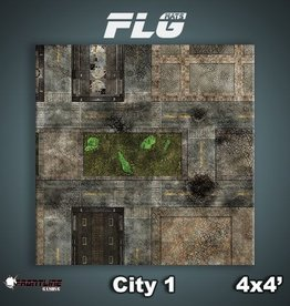Frontline-Gaming FLG Mats: City 1 4x4'
