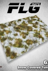 Frontline-Gaming FLG Mats: Snow Covered Tundra 1 6x4'