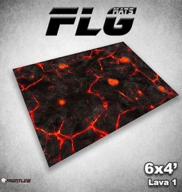 Frontline Gaming FLG Mats: Lava 1 6x4'