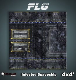 Frontline-Gaming FLG Mats: Infested Spaceship 1 4x4'