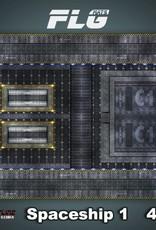 Frontline-Gaming FLG Mats: Spaceship 1 4x4'