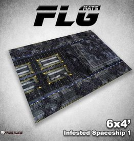 Frontline-Gaming FLG Mats: Infested Spaceship 1 6x4