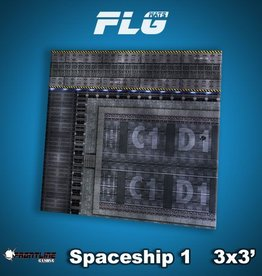 Frontline-Gaming FLG Mats: Spaceship 1 3x3'