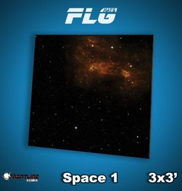 Frontline-Gaming FLG Mats: Space 1 3x3'
