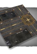 Frontline Gaming FLG Mats: Cyberpunk City 1 3x3'