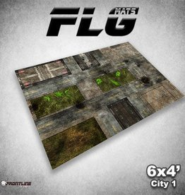 Frontline-Gaming FLG Mats: City 1 6x4'