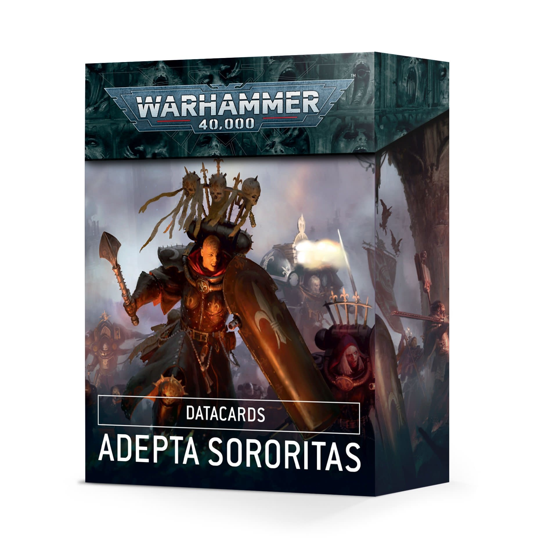 Games-Workshop Adepta Sororitas Datacards