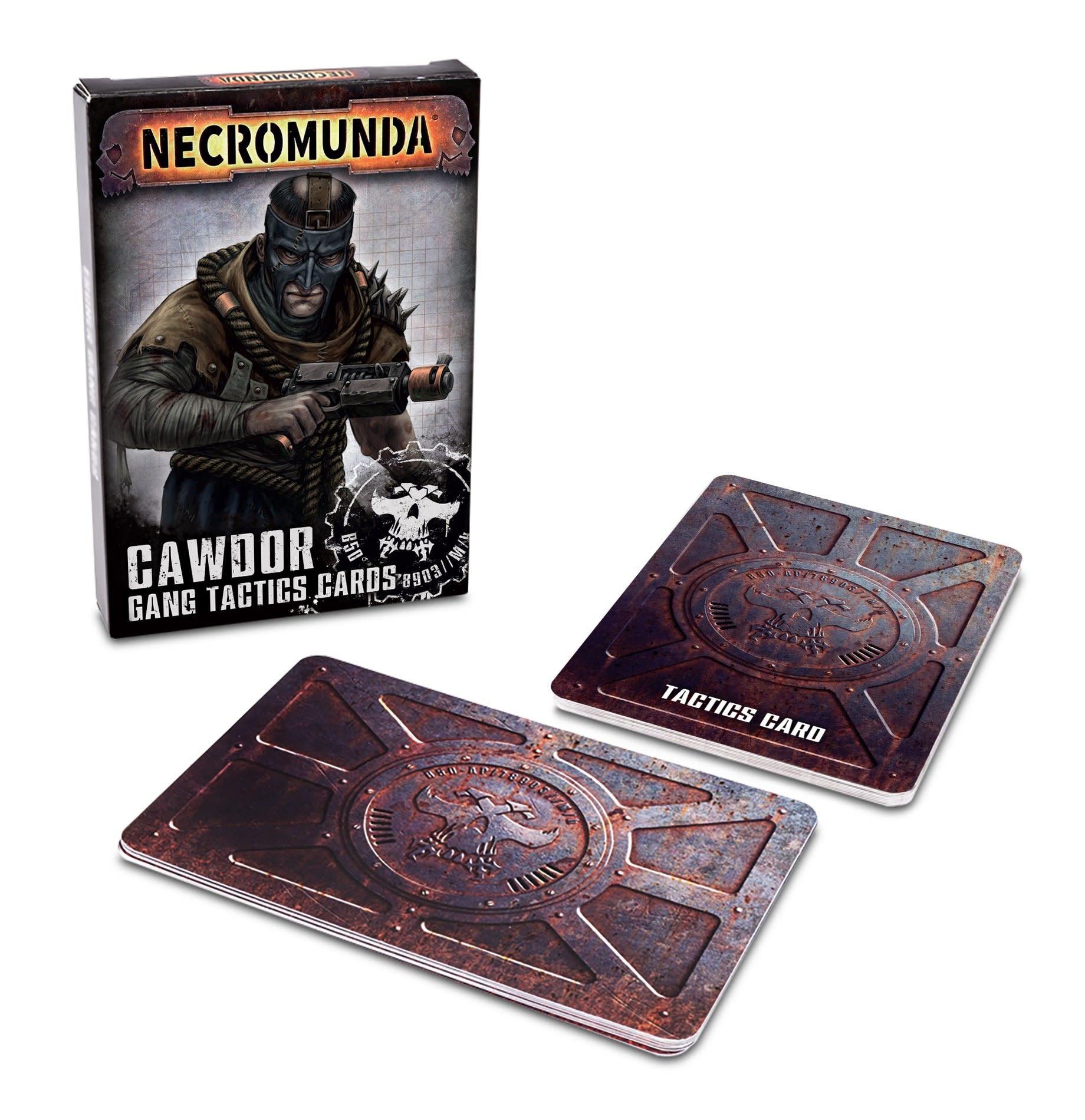 Games-Workshop Necromunda: Cawdor Gang Tactics Cards