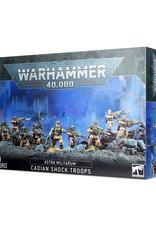 Games-Workshop Astra Militarum: Cadian Shock Troops