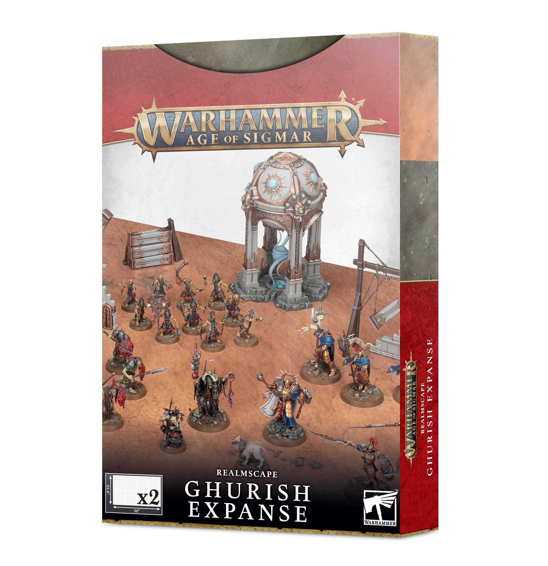 Games-Workshop Realmscape: Ghurish Expanse