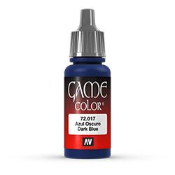 Vallejo Game Color: Dark Blue, 17 ml.