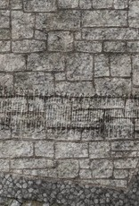 Frontline-Gaming FLG Mats: War-torn Cobblestone City 1 3x3'