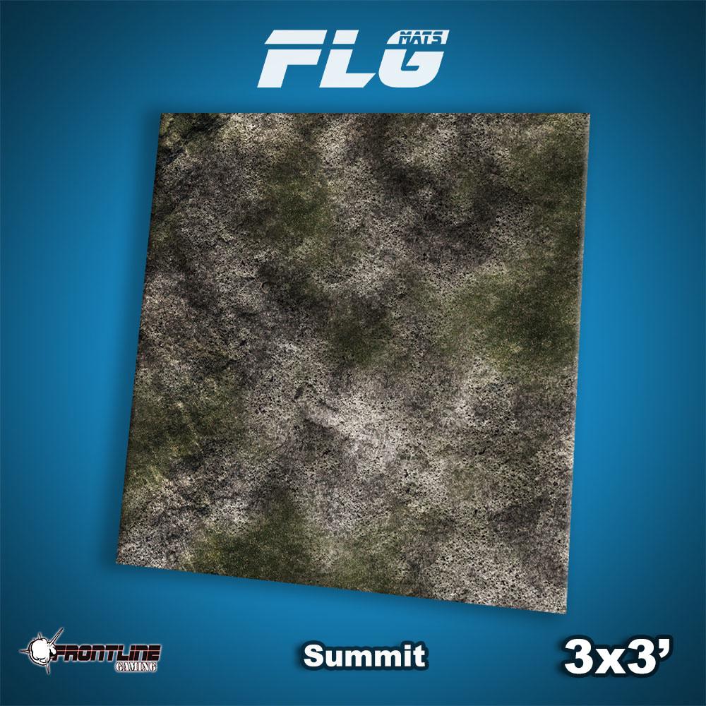 Frontline-Gaming FLG Mats: Summit 3x3'