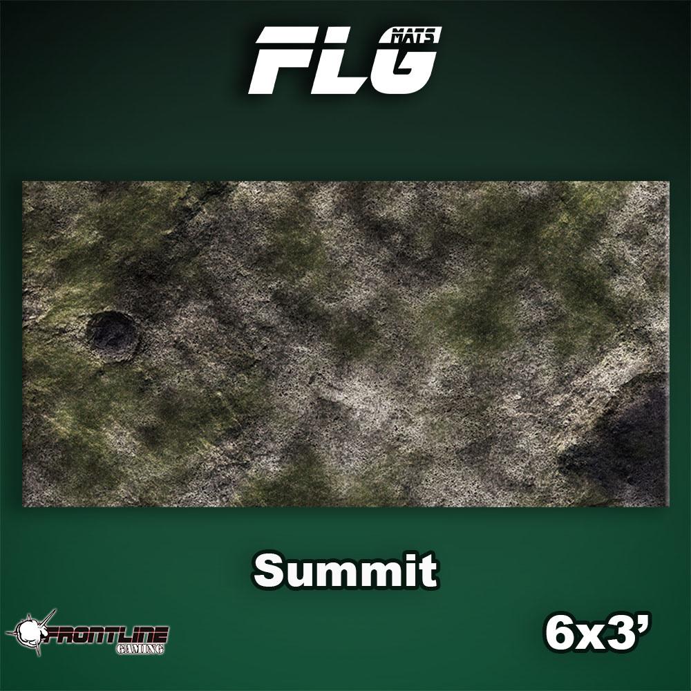 Frontline-Gaming FLG Mats: Summit 6x3'
