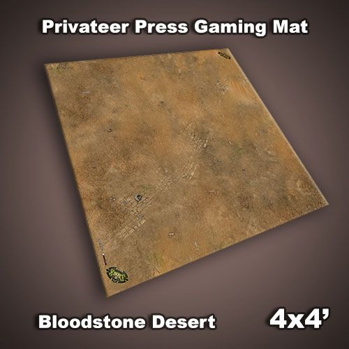 Privateer Press Mat: Bloodstone Desert 4x4'