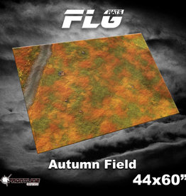 "Frontline-Gaming FLG Mats: Autumn Field 44"" x 60"""