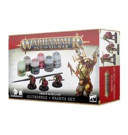 Games-Workshop Orruks Warclans Gutrippaz + Paint Set