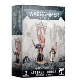 Games-Workshop Adepta Sororitas: Aestred Thurga, Reliquant at Arms