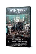 Games-Workshop Battlezone: Mechanicum – Terrain Datasheet Cards