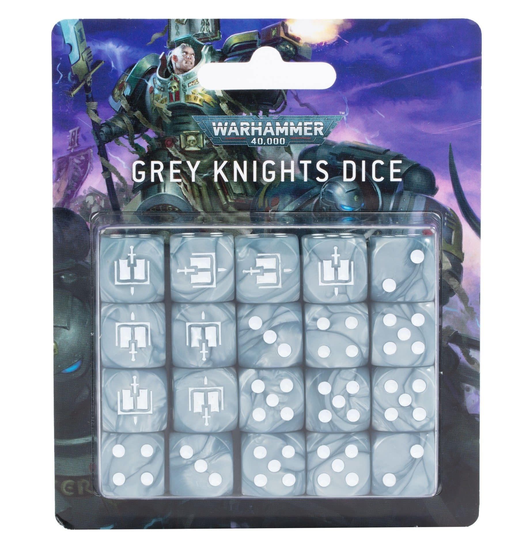 Games-Workshop Grey Knights Dice Set
