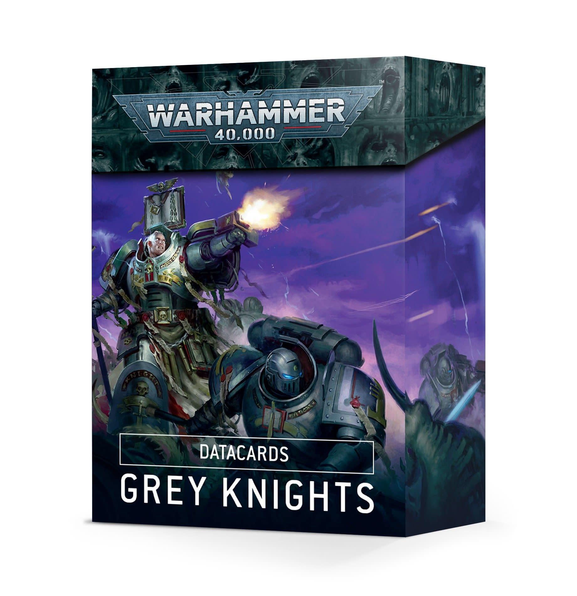 Games-Workshop Grey Knights Datacards